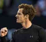 Scoţianul Andy Murray, primul finalist la Australian Open
