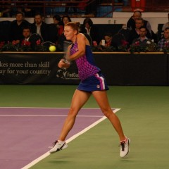 Irina Begu a învins-o pe Eugenie Bouchard în primul tur la Madrid