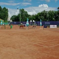 Semifinale româno-australiene, la turneul futures de la Târgu Jiu