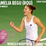 Irina Begu, nominalizată de Fed Cup pentru Heart Award