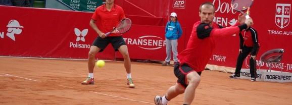 Marius Copil și Adrian Ungur, în finala de dublu a turneului BRD Năstase Țiriac Trophy