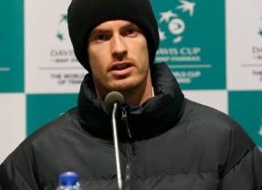 Andy Murray, mulţumit de măsurile de securitate adoptate în vederea finalei Cupei Davis
