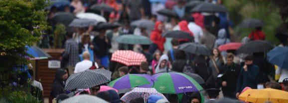 Meciurile de marți ale românilor la Wimbledon, anulate din cauza ploii