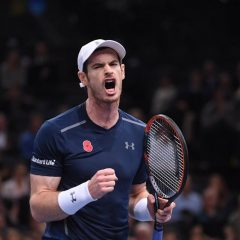 Andy Murray, noul lider mondial ATP după calificarea în finala turneului de la Paris-Bercy