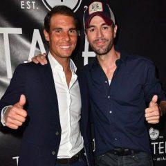 Rafael Nadal şi Enrique Iglesias au inaugurat un restaurant în Miami