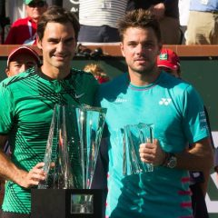 """""""Şi eu sunt complet surprins"""", declară Federer după victoria de la Indian Wells"""