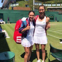 Monica Niculescu s-a calificat în semifinalele probei de dublu la Wimbledon