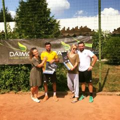Dragoş Dima, in finala de simplu, Mergea si Barbu invingatori la dublu la Daimon Trophy