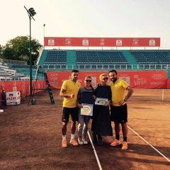 Mergea şi Barbu au câştigat proba de dublu la turneul futures de la Braşov