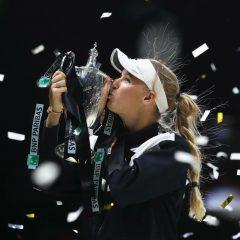 Caroline Wozniacki a câștigat Turneul Campioanelor de la Singapore