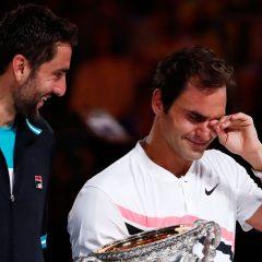 Lacrimi de bucurie pentru Federer, după a 20-a victorie într-un turneu de Mare Şlem