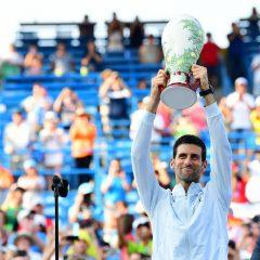 Novak Djokovic, învingător la Cincinnati, după cinci finale pierdute