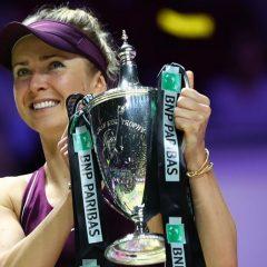 Elina Svitolina a câştigat Turneul Campioanelor de la Singapore