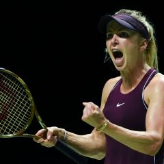 Elina Svitolina, a doua semifinalistă a Turneului Campioanelor