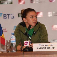 Simona Halep s-a retras de la turneul WTA de la Moscova