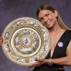 Simona Halep isi va prezenta miercuri, 17 iulie 2019, pe Arena Nationala, trofeul castigat la Wimbledon
