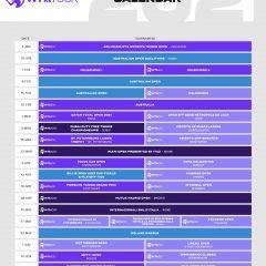 Calendarul WTA până în iulie 2021